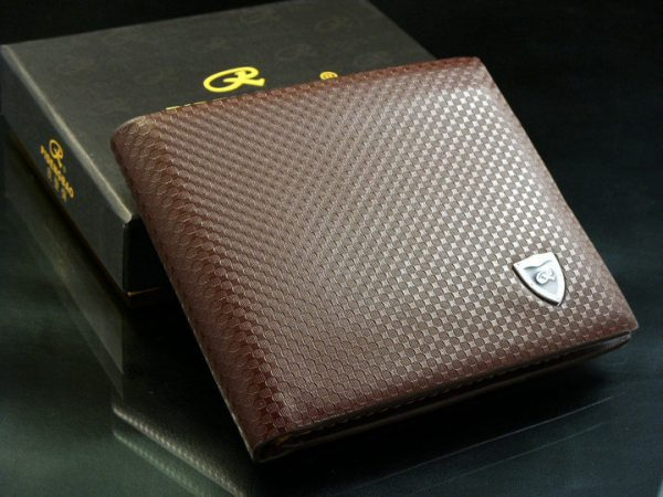 Genuine Leather RFID Credit Cards Protection Men Wallet