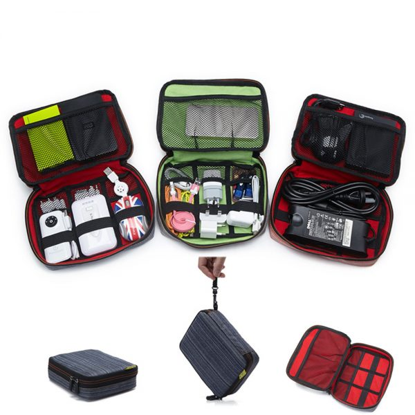 Multi Compartment Travel Bag Digital Product Storage