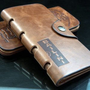 Genuine Leather Multi Card Pockets Long Men Wallet