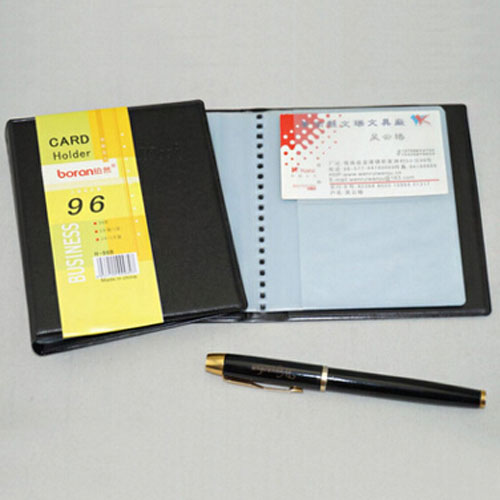 Large Quantity Multi Business Card Pockets Organizer Folder