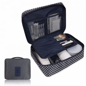 Travel Multi Compartment Cosmetic Toiletry Organizer
