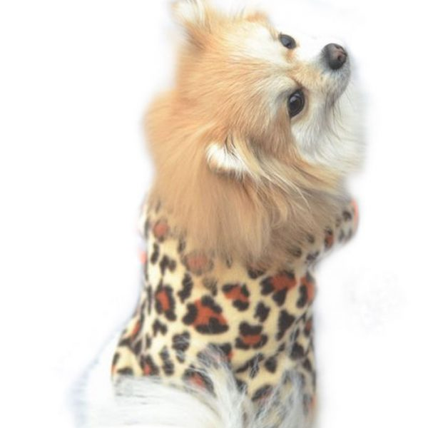 Dot Leopard Fashion Style Small Pet Puppy Kitten Shirt
