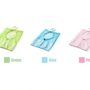 Storage Mesh Bag Kitchen Bathroom Clothesline Closet Hanger