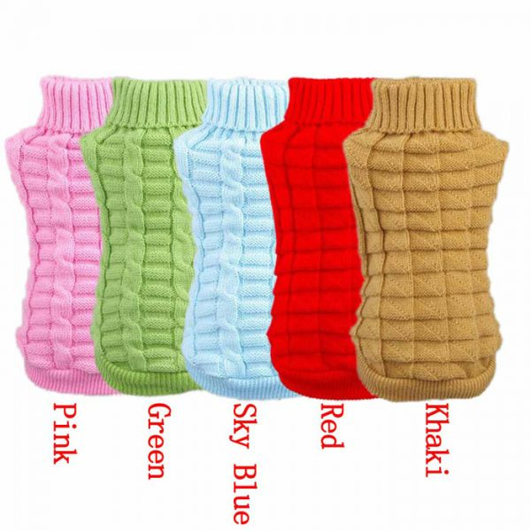 Warm Winter Small Pet Puppy Kitten Dog Cat Sweater