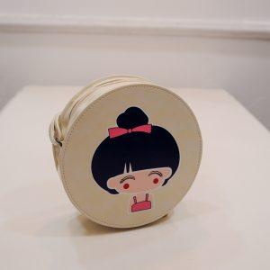 Lovely Cute China Doll Print Small Girl Shoulder Bag