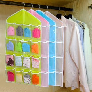 Multi Compartment Bag Socks Underwear Product Storage
