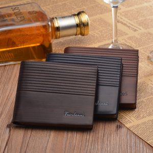 High Quality Fancy Multi Card Holder Genuine Leather Men Wallet