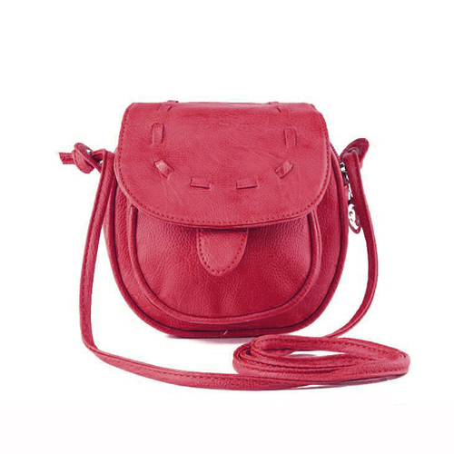 Lovely Pu Leather Mini Small Adjustable Women Shoulder Bag