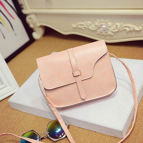 Crossbody Shoulder Bag PU Leather Women Fashion
