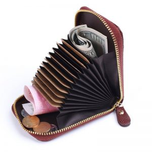 High Quality PU Leather Multi Card Holder Men Women Wallet