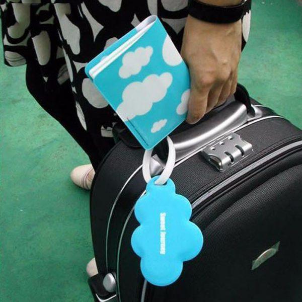 Passport Cover Luggage Tag Set Women Men Unisex