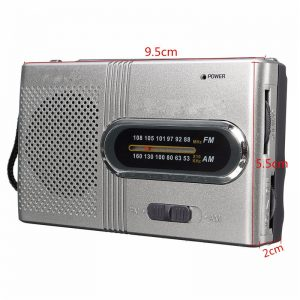 Small Portable Dual Band Telescopic Antenna Radio