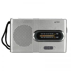 Small Portable FM/AM Dual Band Telescopic Antenna Radio
