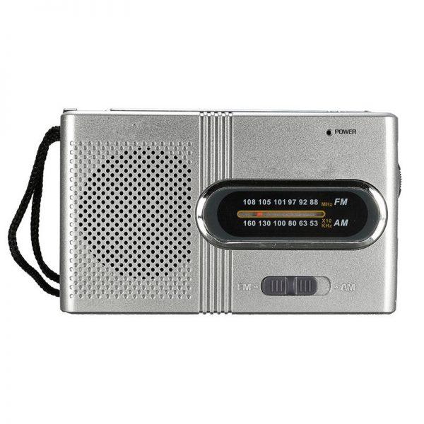 Small Portable FM/AM Dual Band Telescopic Antenna Radio