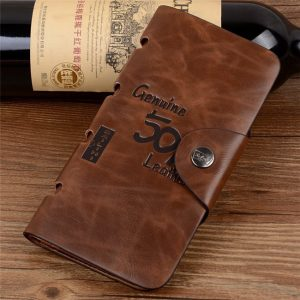 High Quality Western Style Multi Card PU Leather Men Wallet