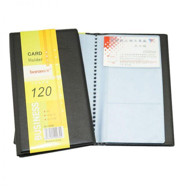 Large Quantity Multi Business Card Pockets Organizer Folder