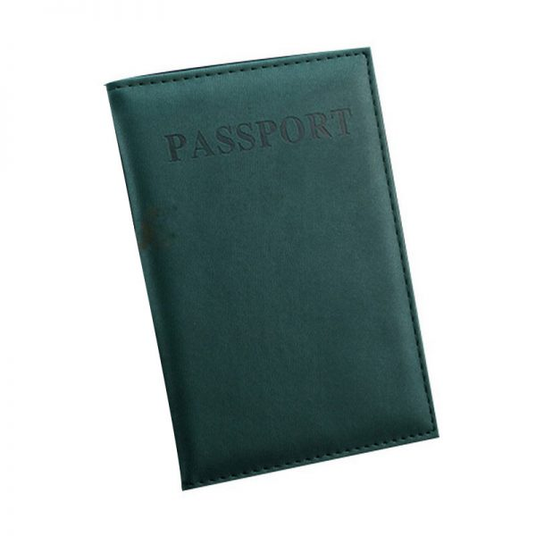 High Quality Passport Cover PU Leather Women Men Unisex