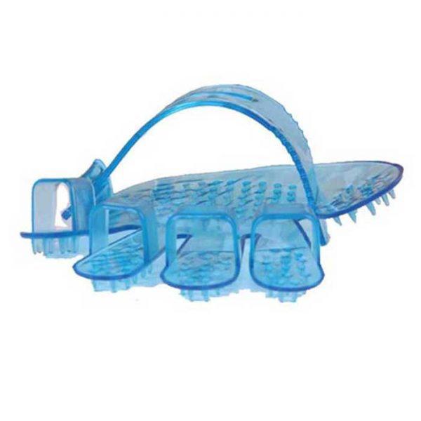 Small Plastic Pet Bath Brush Massage Finger Brush