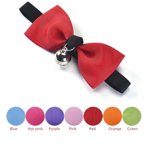 High Quality Charming Bow Neck Bell Pet Dog Cat