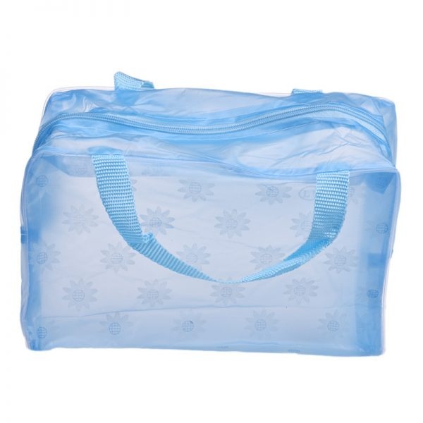 Small Handle Convenient Travel Cosmetic Toiletry Bag