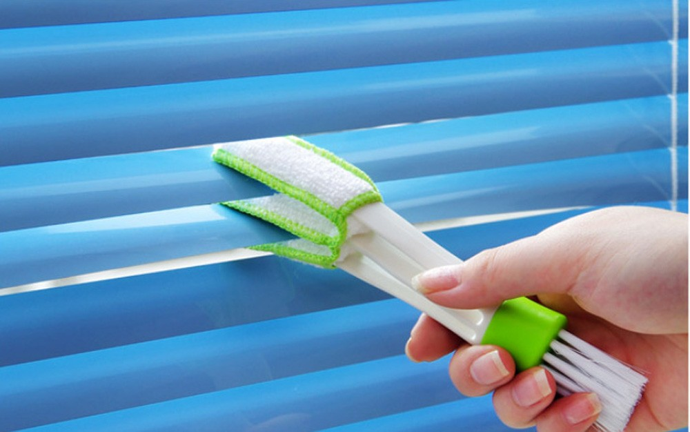 window and blind cleaning curtain computer keyboard stereo window blind cleaning tool