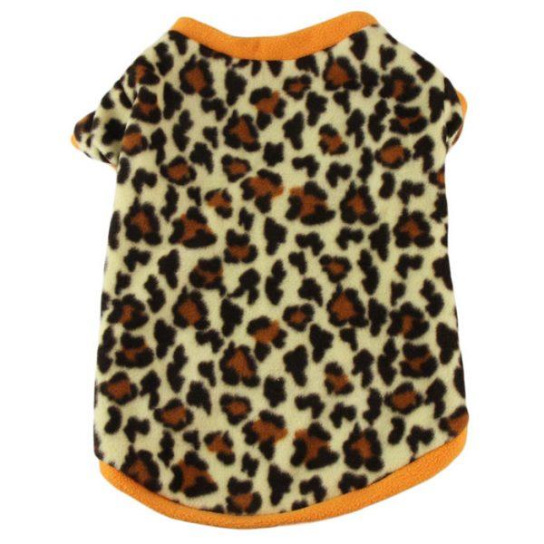 Dot Leopard Fashion Style Small Pet Puppy Kitten Shirt