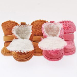 Warm Comfy Pet Puppy Kitten Dog Cat Winter Boots