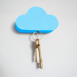Strong Magnetic Key Holder Wall Adhesive Sticker