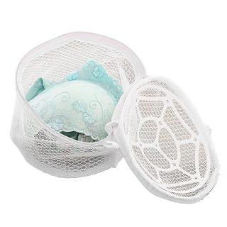Laundry Washing Cap Bras Panties Protection Mesh Zip Bag