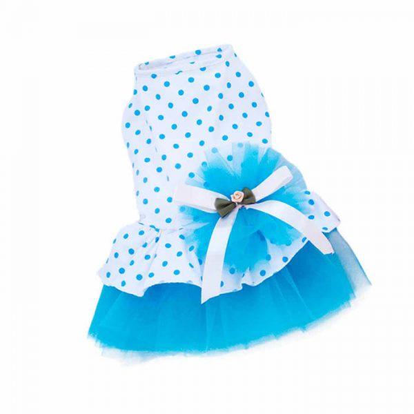 Elegant Small Female Pet Puppy Kitty Summer Dress Skirt
