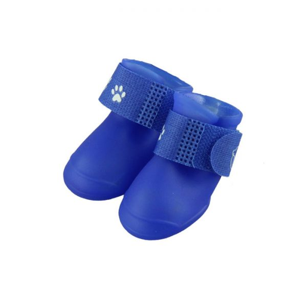 High Quality Silicone Pet Puppy Kitten Summer Rain Boots
