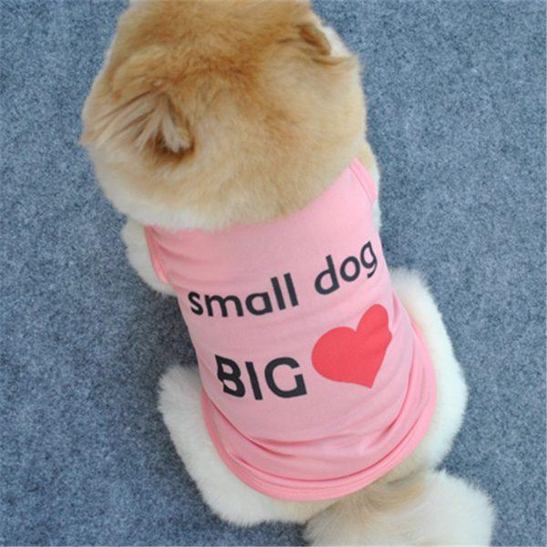 Lovely Summer Small Sleeveless Pet Puppy Dog Shirt