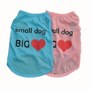 Lovely Summer Small Sleeveless Pet Puppy Dog Shirt