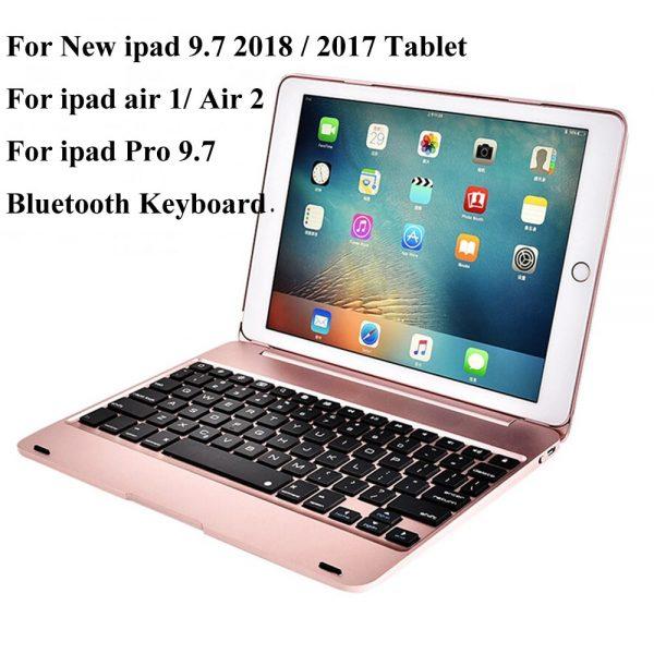 Wireless Bluetooth Keyboard Case iPad 9.7 2017 2018 5th 6th Generation iPad Air 1 2 Pro 9.7