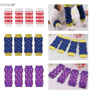 Four Pieces Set Warm Comfortable Pet Dog Cat Leggings