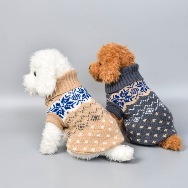 Winter Sweater Knitting Pattern Dog Cat Pet Clothes Vest