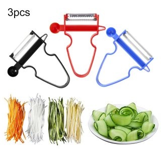 Three Pieces Set Stainless Steel Kitchen Multi Use Tools