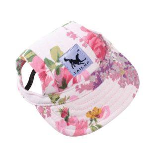 Small Comfortable Pet Dog Hat Cap Summer Outdoor