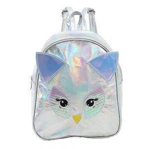 Pretty Owl Shape Travel Women Girls Backpack School Bag