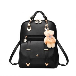 Premium Bear Travel Backpack Casual Women Girls Shoulder Backpacks