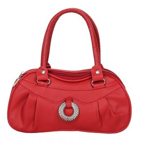 PU Leather Messenger Shoulder Zipper Hand Bag Purse