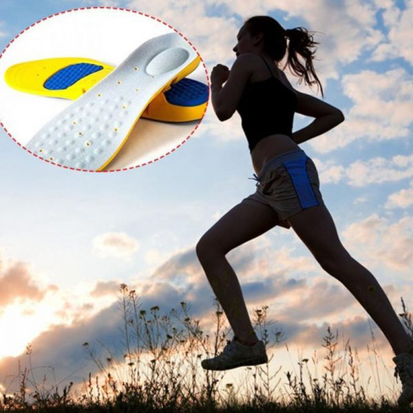Soft Comfortable Memory Foam Arch Anti-Tired Feet Support Shoe Insoles