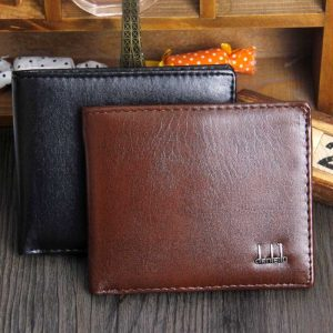 Elegant PU Leather BiFold Fashion Men Wallet