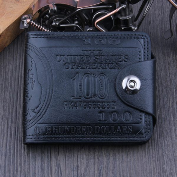 High Quality Multi Card Holder PU Leather Men Wallet