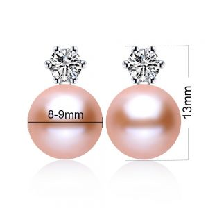round-genuine-freshwater-pearl-925-sterling-silver-women-earrings