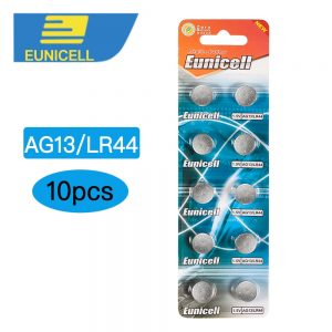 10pcs AG13 LR44 L1154 RW82 RW42 SR1154 SP76 A76 357A LR44 SR44 Alkaline Button Cell Battery