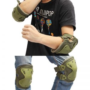 Multi Function Adjustable Knee Elbow Support Pad Set