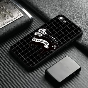Black Cat Design Silicone Apple IPhone Back Case