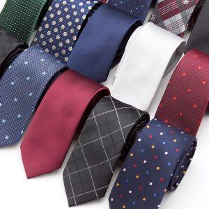 Classic Simple Design Style Men Necktie