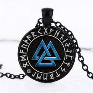 Nordic Classic Style Men Boys Pendant Chain Necklace